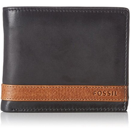 Fossil Quinn, Portefeuille cuir homme
